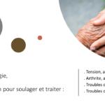 Anxiété, douleurs, arthrose, arthrite... Quelle solution pour soulager les personnes âgées ? 100% naturelle, la réflexologie est une technique de bien-être reconnue pour son efficacité dans la gestion du stress et le traitement de la douleur. En agissant sur la détente du système nerveux, la réflexologie procure des effets calmants et revitalisants.